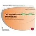 CALCIUM D3 Puren 1000 mg/880 I.E. Kautabletten