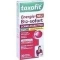TAXOFIT Energie B12-sofort Schmelztabletten