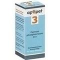 APOPET Schüßler-Salz Nr.3 Ferrum phos.D 12 vet.