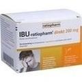 IBU RATIOPHARM direkt 200 mg Pulver zum Einnehmen