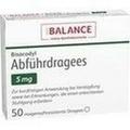 BISACODYL Abführdragees 5 mg BALANCE