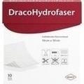 DRACOHYDROFASER 10x10 cm gelbildender Faserverband