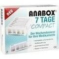 ANABOX Compact 7 Tage Wochendosierer weiß