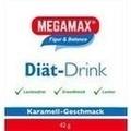 MEGAMAX Diät Drink Karamell Einzelport.Pulver