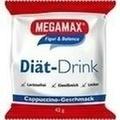 MEGAMAX Diät Drink Cappuccino Einzelport.Pulver