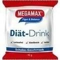 MEGAMAX Diät Drink Schoko Einzelport.Pulver