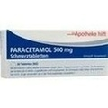 PARACETAMOL 500 mg Die Apotheke hilft Tabletten