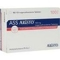 ASS Aristo 100 mg magensaftresistente Tabletten