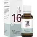 BIOCHEMIE Pflüger 16 Lithium chloratum D 12 Glob.