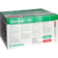 OMNICAN Insulinspr.1 ml U40 m.Kan.0,30x12 mm