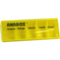ANABOX Tagesbox gelb