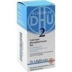 BIOCHEMIE DHU 2 Calcium phosphoricum D 6 Tabletten**