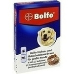 BOLFO Flohschutzband braun f.große Hunde**