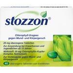 STOZZON Chlorophyll überzogene Tabletten**