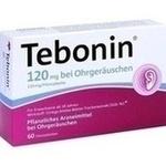 TEBONIN 120 mg bei Ohrgeräuschen Filmtabletten**