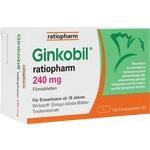 GINKOBIL ratiopharm 240 mg Filmtabletten**