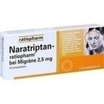 NARATRIPTAN ratiopharm bei Migräne Filmtabletten**