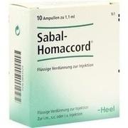 SABAL HOMACCORD Ampullen