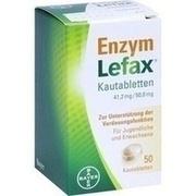 ENZYM LEFAX Kautabletten