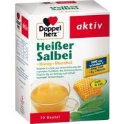DOPPELHERZ heißer Salbei+Honig+Menthol Granulat