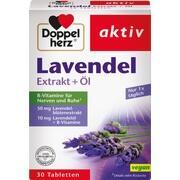 DOPPELHERZ Lavendel Extrakt+Öl Tabletten