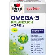 DOPPELHERZ Omega-3 pflanzlich system Kapseln