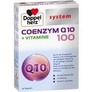 DOPPELHERZ Coenzym Q10 100+Vitamine system Kapseln