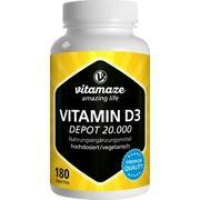 VITAMIN D3 20.000 I.E. Depot hochdosiert Tabletten