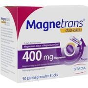MAGNETRANS duo-aktiv 400 mg Sticks
