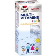 DOPPELHERZ Multi-Vitamine flüssig family system