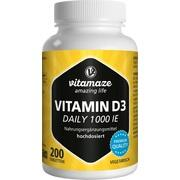 VITAMIN D3 1.000 I.E. daily vegetarisch Tabletten