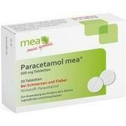 PARACETAMOL mea 500 mg Tabletten