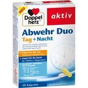 DOPPELHERZ Abwehr Duo Tag+Nacht Kapseln