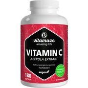 VITAMIN C 160 mg Acerola Extrakt pur vegan Kapseln