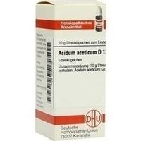 DHU ACIDUM ACETICUM D 12 Globules
