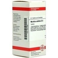 DHU MYRISTICA SEBIFERA D 3 Comprimidos