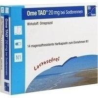 OME TAD 20 mg b.Sodbrennen Hartkps.magensaftr.