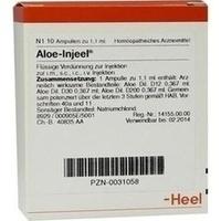 HEEL ALOE INJEEL 1,1 ml