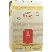 FREBINI Energy Drink Erdbeere Trinkflasche