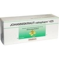 JOHANNISKRAUT RATIOPHARM 425 mg Hartkaps.