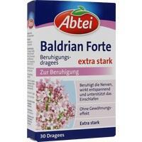 ABTEI Baldrian forte überzogene Tabletten**