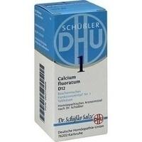 BIOCHEMIE DHU 1 Calcium fluoratum D 12 Tabletten
