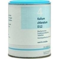 Biochemie 4 Kalium Chloratum D12 Tabletten