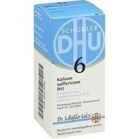 Biochemie 6 Kalium Sulfuricum D12 Tabletten