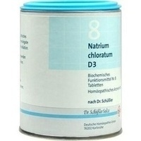 Biochemie 8 Natrium Chloratum D3 Tabletten