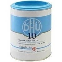 Biochemie 10 Natrium Sulfuricum D3 Tabletten