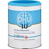 Biochemie 10 Natrium Sulfuricum D6 Tabletten