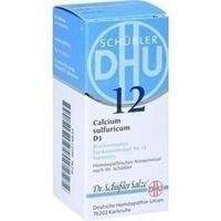 Biochemie 12 Calcium Sulfuricum D3 Tabletten