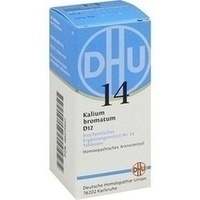 Biochemie 14 Kalium Bromatum D12 Tabletten