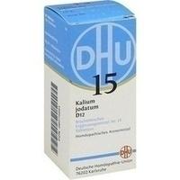 Biochemie 15 Kalium Jodatum D12 Tabletten